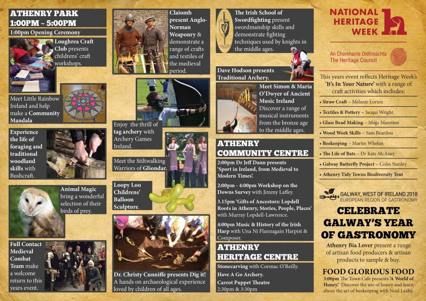 Athenry Walled Towns Day 2017