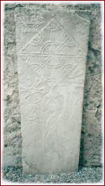 Grave Slab at the Athenry Dominican Priory