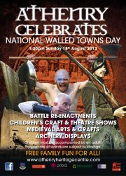 Walled towns day poster