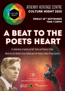 Culture Night 2015 A Beat To The Poets Heart